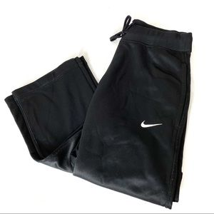 NIKE Black Therma Fit Warm Up Pants S